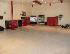 Garage Flooring Saddle Tan