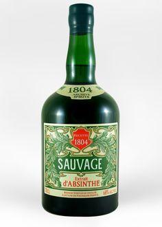Absinthe Sauvage 1804 - 2nd edition