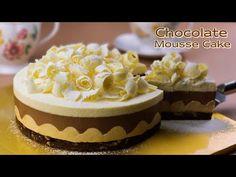 컵 계량 / 카라멜 초콜릿 무스케이크 만들기 / 브라우니 만들기 / Caramel Chocolate Mousse Cake / Brownies Recipe / ASMR - YouTube Chocolate Mousse Cake, Chocolate Caramels, Brownie Cake, Cake Brownies, Mini Tortillas, Pastry Cake, Party Desserts, Chocolates, Brownie Recipes