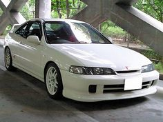 JDM Championship White Integra Type R  I have to say this is the second love of my life.