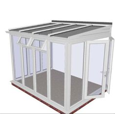Lean-to Conservatory Prices - from Quality DIY Conservatories at Trade Prices from a Trading Standards Approved Company. Conservatory Ideas Sunroom, Conservatory Prices, Lean To Conservatory, Conservatories Uk, Large Dining Room Table, Pergola Lighting, Buying A New Home, Retractable Canopy, Glass Roof