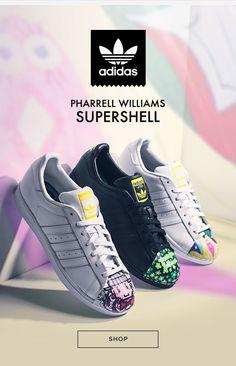Shop PacSun Adidas x Pharrell Williams Super Shell