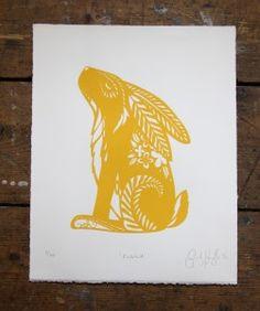Rabbit -Yellow