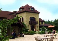 Chateau Morrisette in Floyd, VA - bring a picnic or eat at the gourmet restaurant onsite