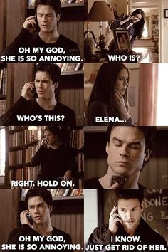OMG LOL Damon  Alaric (The Vampire DIaries) are Mean Girls. Why do Mean Girls quotes work for everything? oh, thats right because Tina Fey wrote it and she is amazing