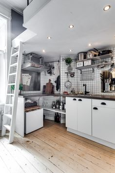 Post: 17 m² dan para mucho --> 17 metros cuadrados, blog decoracion interiores, cama en altillo, decoración minipisos, decoración pisos pequeños, distribución diseño minipisos, estilo nórdico, pisos estudio, pisos una habitación