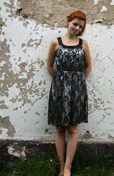 handmade womans party dress