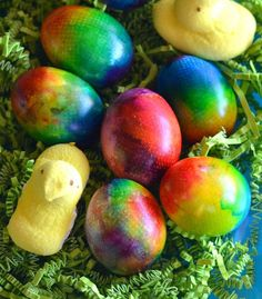 Tie Dye Easter Egg Tutorial: How to Make Colorful Easter Eggs