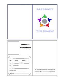 stepbystep: Time passport  My first creation.