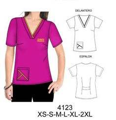 Delantales Corporate Uniforms, Scrubs Uniform, V Neck, Plus Size, Sewing, Medical, Modern Lamps, Tops, Image