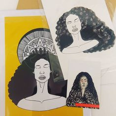 Sent my Sun Woman and Anyanwu prints off to NY today  You can use code SHIPME5 to get free shipping in my etsy store from now until midnight Monday 19/10 Dorcascreates.etsy.com #art #illustration #drawing #instaartist #instaart #art #wildseed #anyanwu #octaviabutler #blackart #magicalblackgirls #blackgirlmagic #dorcascreates by dorcascreates