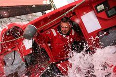 #VolvoOceanRace: flotta nell'Indiano, vita dura per i velisti
