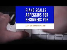 Piano Scales and Arpeggios for Beginners pdf - YouTube E Major, Major Scale, Piano Scales, Print Music, Free Sheet Music, Music Theory, Pdf, Studio, Learning