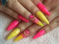 Sommer Idee Fingernagel Design