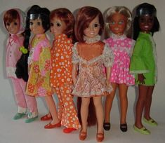 Loved these dolls as a kid. Aftermarket Outfits for Ideal Crissy Doll