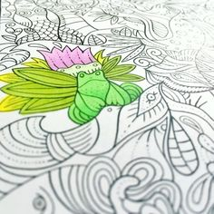 "Mental Images Coloring Books (@paivivesala_art) on Instagram: ""He is trying to hide on the page. * Coloring book: Mental Images vol 2 (Amazon)"" Zen Colors, Adulting, Coloring Books, Amazon, Image, Instagram, Art, Vintage Coloring Books, Art Background"