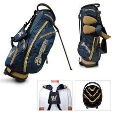 Team Golf Milwaukee Brewers Fairway 14-Way Stand Golf Bag - Golf Equipment, Collegiate Golf Products at Academy Sports