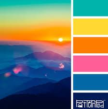 Image result for summer colour palette
