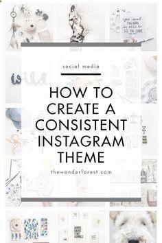 Crear un tema en Instagram. Marketing en Instagram. Tips, infografías y tutoriales sobre Instagram para pequeñas empresas, bloggers, emprendedores y emprendedoras.