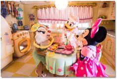 イマジニング・ザ・マジック、東京ディズニーリゾート、東京ディズニーランド、ミニーの家、ミニー、デイジー、クラリス