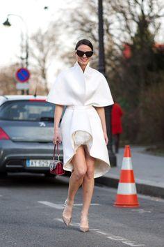 ❤ #street #fashion #snap from Paris Fashion Week 2015