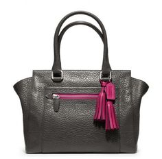 Legacy Textured Leather Medium Candace Carryall - Lyst