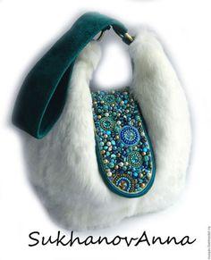 Fur Purse, Fur Bag, Potli Bags, Fur Accessories, Diy Handbag, Vintage Purses, Beaded Bags, Fabric Bags, Cloth Bags
