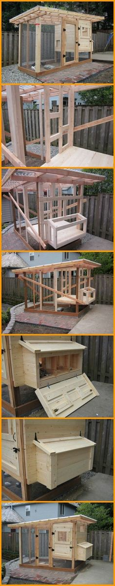 Keep your chooks safe from predatory animals and get free eggs in return with this DIY chicken coop you can build right in your backyard. http://theownerbuildernetwork.co/hlcn