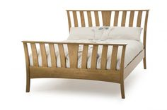 The Ordelia bed frame has been designed from the shaker style with a touch from the art deco period with the way the slatted design fans out.