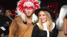 Hilary Duff and her boyfriend dressed as a pilgrim and Native American for Halloween and everyone is appropriately outraged