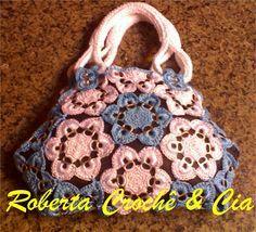 Pull tab crocheted purse