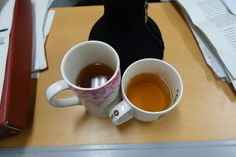 Our third cups with tea