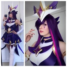 Star Guardian Syndra!     So happy she's finally done. If you guys wanna get the full tutorial for the whole costume checkout patreon this month!   #starguardiansyndracosplay #starguardiansyndra #syndra #syndracosplay #cosplay #starguardian #starguardiancosplay #magicalgirl #purplehair #purple #mahoushoujo