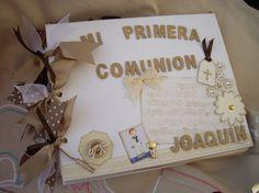 ÁLBUM MI PRIMERA COMUNIÓN, Comuniones, Álbumes