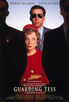 GUARDING TESS is just a hilarious movie.  Shirley McLane and Nicholas Cage are fantastic together.  They have great chemistry with one another and the way they throw zingers at one another the entire movie just makes it for me.