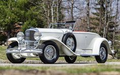 Gangster-bought Duesenberg Model J/SJ heads to auction  This car makes an appearance in my new book Time Square  |  The Shift