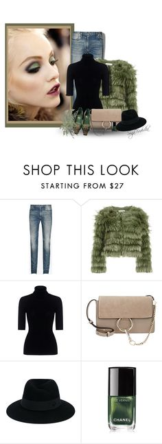 """""""My personal style"""" by fashion-and-beauty-miracles ❤ liked on Polyvore featuring Maison Margiela, Alice + Olivia, Marissa Webb, Chloé, Maison Michel, Chanel and Gucci"""