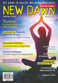 New Dawn E-Newsletter - From the Vault Kombucha Tea, Regenerative Medicine, Aging Process, Castor Oil, Dawn, You Got This, Remedies, Wellness