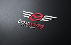 Box Wing Transport by Super Pig Shop on Creative Market