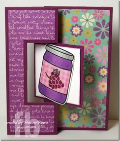 Peanut Butter and Jelly created by Frances Byrne using The Stamps of Life PBJ2Enjoy
