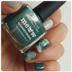 Marble nails - Picture Polish Lakodom & Meow
