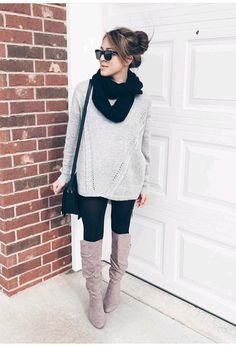 Botas de invierno ¡Outfits de moda!