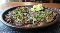 Grilled Mojo Beef -