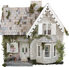 Wiltshire Cottage by Cinderella Moments - interview in issue 203 of The Dolls' House magazine.