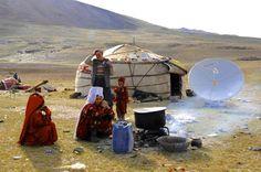 Kirghiz Summer camp, Jazgoz, Wakhan Pamir, Afghanistan