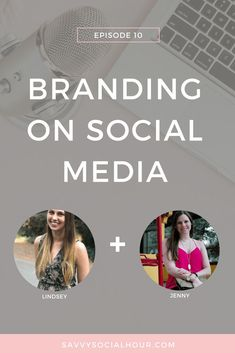 In today's episode on the Savvy Social Hour podcast, I'm chatting with Lindsey of Blog Me Lovely about branding on social media // Savvy Social Hour << #socialmedia
