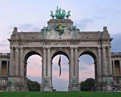 Cinquantenaire Triumphal Arch - Bruselas