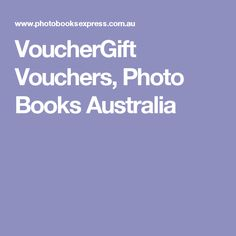 At Photobook Shop we have number of gift vouchers for you to purchases in your special day.