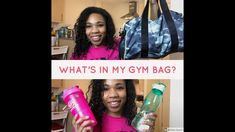 What's in my gym bag? - YouTube