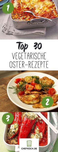 Vegetarian recipes for Easter Source by chefkochde Vegan Vegetarian, Vegetarian Recipes, Healthy Recipes, Clean Eating Challenge, Special Recipes, Easter Recipes, Veggie Recipes, Easy Meals, Veggies